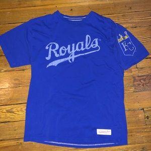 Kansas City Royals Mitchell and Ness T-shirt